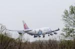 Yagamaniaさんが、新千歳空港で撮影したチャイナエアライン 747-409の航空フォト(写真)