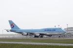 Yagamaniaさんが、新千歳空港で撮影した大韓航空 747-4B5の航空フォト(写真)