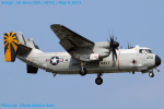 Chofu Spotter Ariaさんが、厚木飛行場で撮影したアメリカ海軍 C-2 Greyhoundの航空フォト(飛行機 写真・画像)