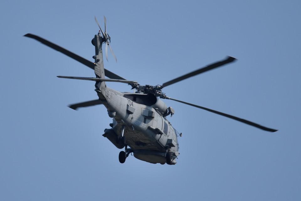 tsubasa0624さんのアメリカ海軍 Sikorsky S-70 (H-60 Black Hawk/Seahawk) (704) 航空フォト