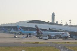 ひかりさんが、関西国際空港で撮影したカタール航空 A330-202の航空フォト(飛行機 写真・画像)