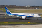 よっしぃさんが、デュッセルドルフ国際空港で撮影した全日空 787-8 Dreamlinerの航空フォト(写真)
