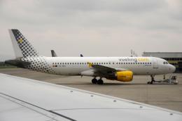 バーバ父さんが、トリノ・カゼッレ空港で撮影したブエリング航空 A320-214の航空フォト(飛行機 写真・画像)