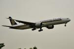 tsubasa0624さんが、成田国際空港で撮影したシンガポール航空 777-312/ERの航空フォト(飛行機 写真・画像)