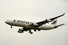 tsubasa0624さんが、成田国際空港で撮影したフィンエアー A340-313Xの航空フォト(飛行機 写真・画像)