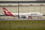 tsubasa0624さんが、成田国際空港で撮影したカンタス航空 747-438/ERの航空フォト(飛行機 写真・画像)