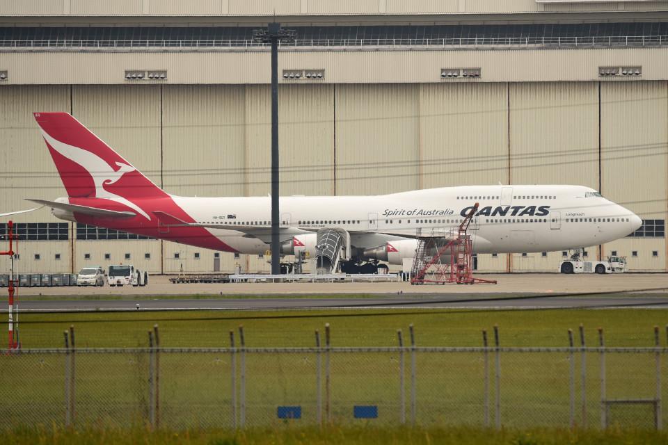 tsubasa0624さんのカンタス航空 Boeing 747-400 (VH-OEG) 航空フォト