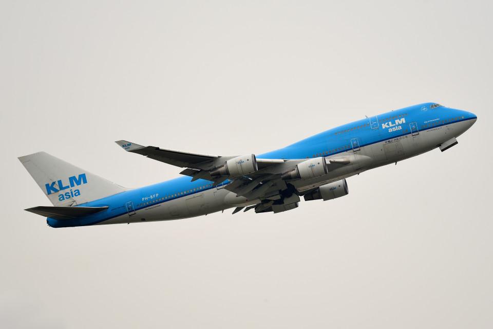 tsubasa0624さんのKLMオランダ航空 Boeing 747-400 (PH-BFP) 航空フォト