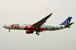 tsubasa0624さんが、成田国際空港で撮影したエアアジア・エックス A330-343Xの航空フォト(飛行機 写真・画像)