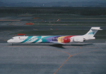 kumagorouさんが、新千歳空港で撮影した日本エアシステム MD-90-30の航空フォト(写真)