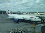 シャチさんが、ロンドン・ヒースロー空港で撮影したブリティッシュ・エアウェイズ 777-236/ERの航空フォト(写真)
