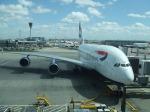 シャチさんが、ロンドン・ヒースロー空港で撮影したブリティッシュ・エアウェイズ A380-841の航空フォト(飛行機 写真・画像)