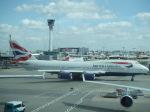 シャチさんが、ロンドン・ヒースロー空港で撮影したブリティッシュ・エアウェイズ 747-436の航空フォト(飛行機 写真・画像)