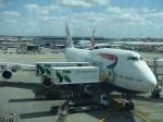シャチさんが、ロンドン・ヒースロー空港で撮影したブリティッシュ・エアウェイズ 747-436の航空フォト(写真)