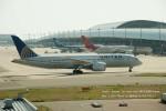 かみきりむしさんが、関西国際空港で撮影したユナイテッド航空 787-8 Dreamlinerの航空フォト(写真)