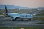 たっしーさんが、関西国際空港で撮影したカタール航空 A330-202の航空フォト(写真)