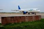 RUSSIANSKIさんが、シェムリアップ国際空港で撮影したスカイ・アンコール・エアラインズ A320-212の航空フォト(飛行機 写真・画像)
