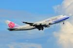 RUSSIANSKIさんが、デンパサール国際空港で撮影したチャイナエアライン 747-409の航空フォト(飛行機 写真・画像)