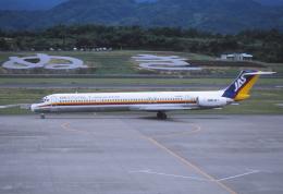 kumagorouさんが、高松空港で撮影した日本エアシステム MD-81 (DC-9-81)の航空フォト(飛行機 写真・画像)