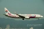 かみきりむしさんが、関西国際空港で撮影した中国東方航空 737-89Pの航空フォト(写真)