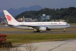 福岡空港 - Fukuoka Airport [FUK/RJFF]で撮影された中国国際航空 - Air China [CA/CCA]の航空機写真