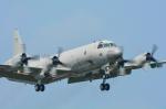 パンダさんが、厚木飛行場で撮影した海上自衛隊 P-3Cの航空フォト(写真)