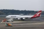 T.Sazenさんが、成田国際空港で撮影したカンタス航空 747-48Eの航空フォト(飛行機 写真・画像)
