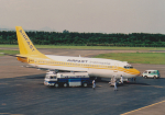 kumagorouさんが、仙台空港で撮影したエアファスト インドネシア 737-247の航空フォト(写真)