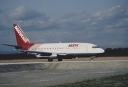 kumagorouさんが、仙台空港で撮影したマークエア 737-2T4C/Advの航空フォト(飛行機 写真・画像)