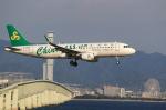 T.Sazenさんが、関西国際空港で撮影した春秋航空 A320-214の航空フォト(写真)