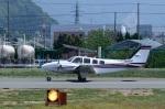 だだちゃ豆さんが、山形空港で撮影した航空大学校 Baron G58の航空フォト(写真)