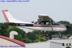 Chofu Spotter Ariaさんが、調布飛行場で撮影した水産航空 U206G Stationair 6の航空フォト(飛行機 写真・画像)
