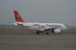 北の熊さんが、新千歳空港で撮影したトランスアジア航空 A320-233の航空フォト(写真)