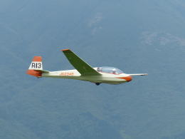 naoki0314さんが、久住滑空場で撮影した九州グライダースポーツ連盟 ASK 13の航空フォト(飛行機 写真・画像)