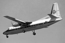 apphgさんが、名古屋飛行場で撮影した全日空 F27-241 Friendshipの航空フォト(飛行機 写真・画像)