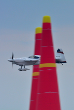 パンダさんが、幕張海浜公園で撮影したエアクラフト・ギャランティ (AGC) Edge 540 V3の航空フォト(飛行機 写真・画像)