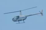 パンダさんが、幕張海浜公園で撮影したディーエイチシー R44の航空フォト(飛行機 写真・画像)