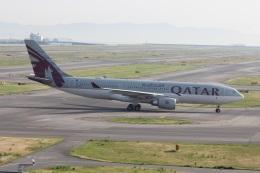 ショウさんが、関西国際空港で撮影したカタール航空 A330-202の航空フォト(飛行機 写真・画像)