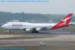 Chofu Spotter Ariaさんが、成田国際空港で撮影したカンタス航空 747-438/ERの航空フォト(写真)