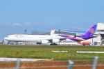 amagoさんが、成田国際空港で撮影したタイ国際航空 A340-642の航空フォト(写真)