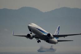 KIXシニアさんが、関西国際空港で撮影した全日空 737-881の航空フォト(飛行機 写真・画像)