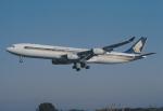 kumagorouさんが、仙台空港で撮影したシンガポール航空 A340-313Xの航空フォト(飛行機 写真・画像)