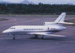 kumagorouさんが、仙台空港で撮影したアメリカ企業所有 Falcon 900の航空フォト(飛行機 写真・画像)