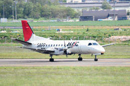tsubasa0624さんが、札幌飛行場で撮影した北海道エアシステム 340B/Plusの航空フォト(写真)