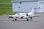 tsubasa0624さんが、札幌飛行場で撮影した中日本航空 B200 Super King Airの航空フォト(写真)