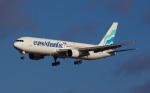 M-STARさんが、パリ オルリー空港で撮影したユーロアトランティック・エアウェイズ 767-383/ERの航空フォト(写真)