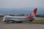 m-takagiさんが、小松空港で撮影したカーゴルクス 747-8R7F/SCDの航空フォト(飛行機 写真・画像)