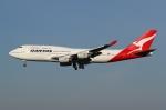 Wings Flapさんが、成田国際空港で撮影したカンタス航空 747-438の航空フォト(写真)