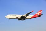 ANDさんが、成田国際空港で撮影したカンタス航空 747-438の航空フォト(飛行機 写真・画像)