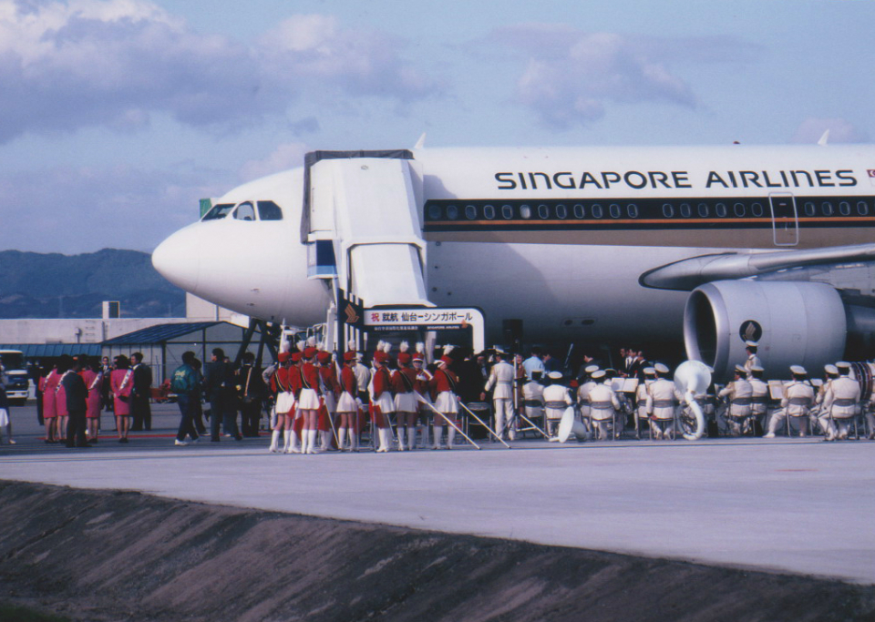 kumagorouさんのシンガポール航空 Airbus A310-300 (9V-STT) 航空フォト